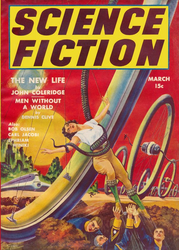 Science Fiction March 1940