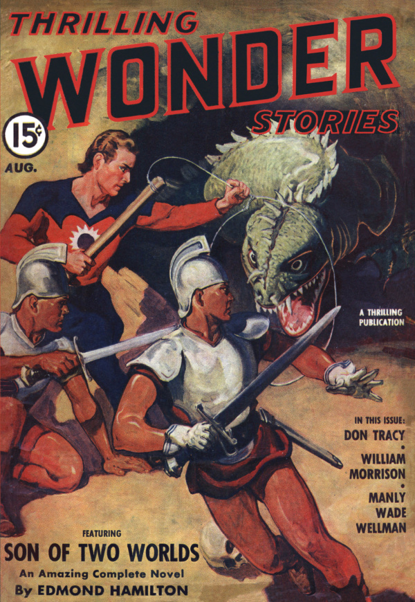 Thrilling Wonder Stories August 1941