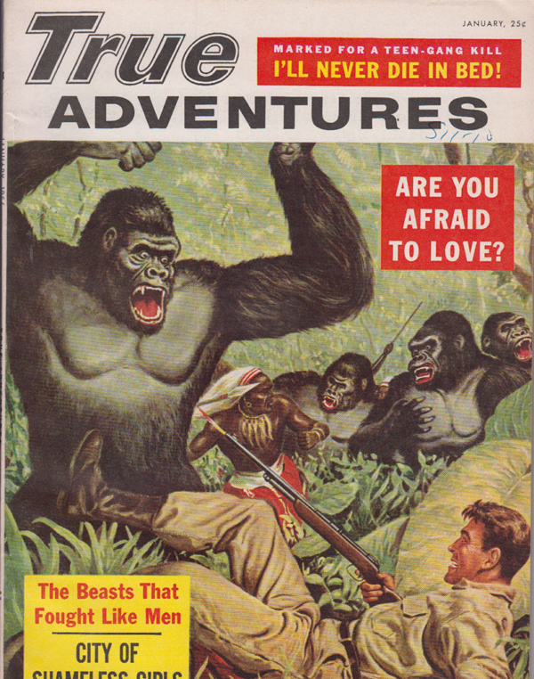 True Adventures - January 1956