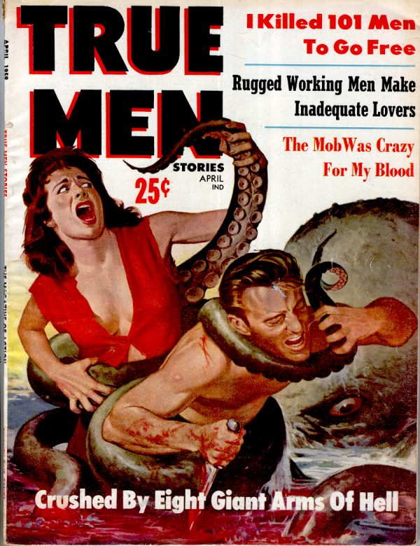 True Men Stories April 1959
