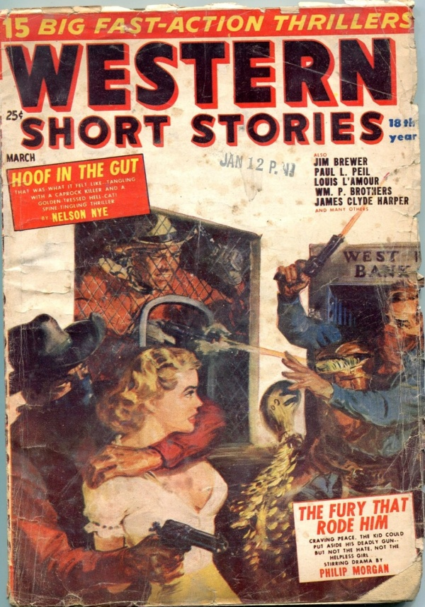 Western Short Stories March 1954
