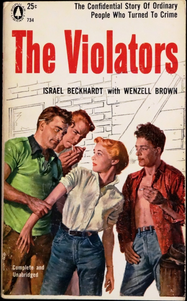Popular Library 734 (March, 1956). First Printing. Cover by Rafael DeSoto