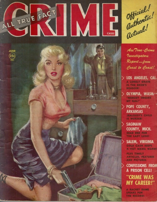 All True Fact Crime Cases June 1952