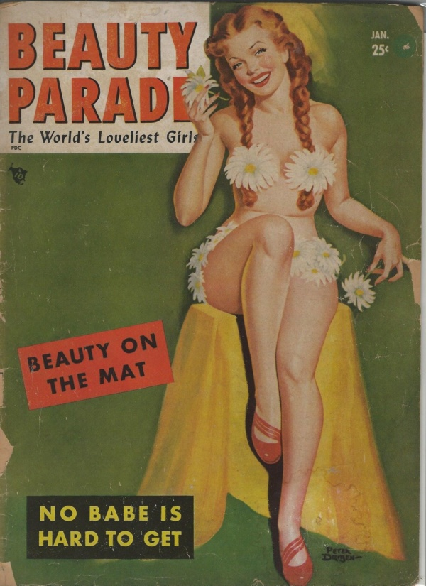 Beauty Parade January 1950