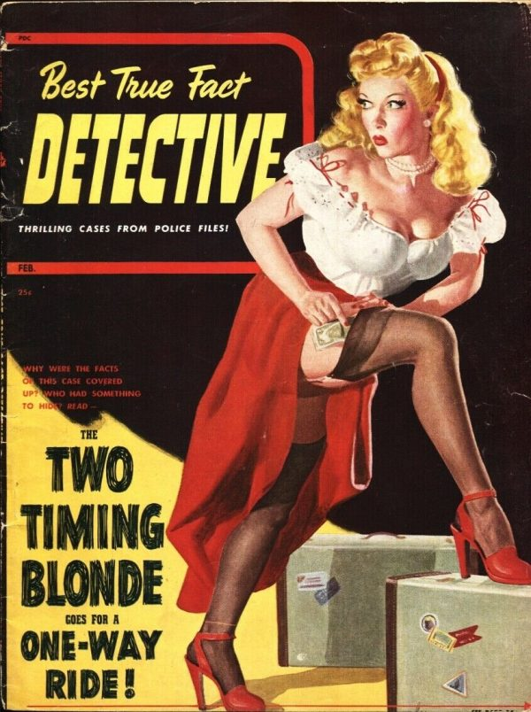 Best True Fact Detective February 1940