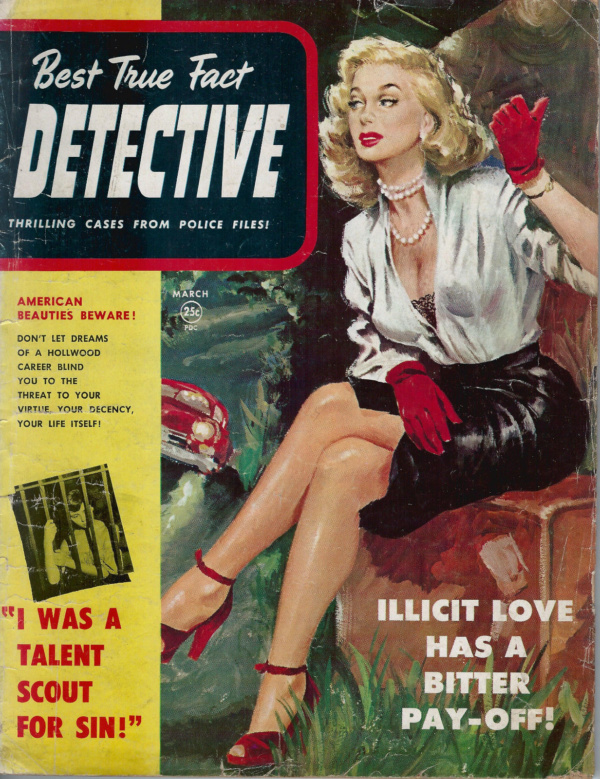 Best True Fact Detective March 1951