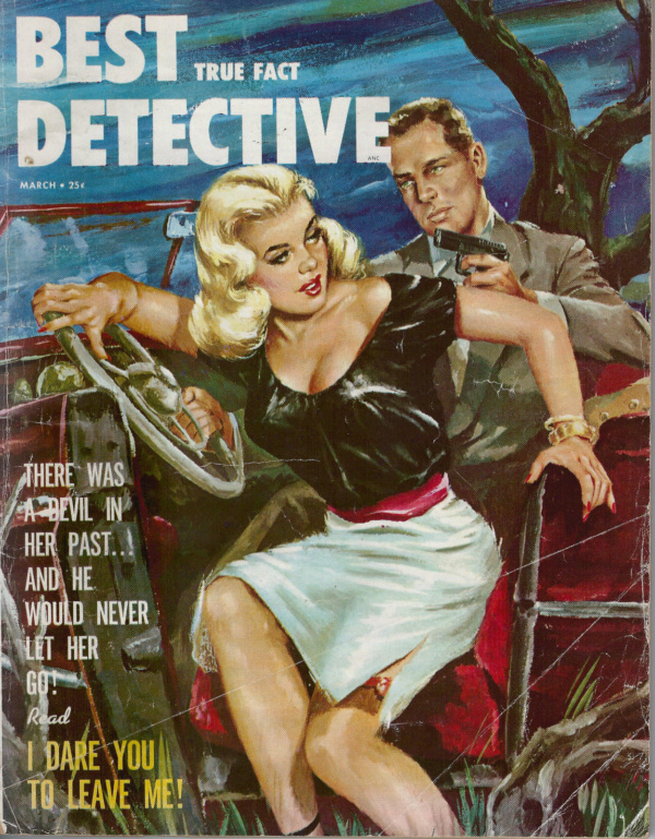 Best True Fact Detective March 1954