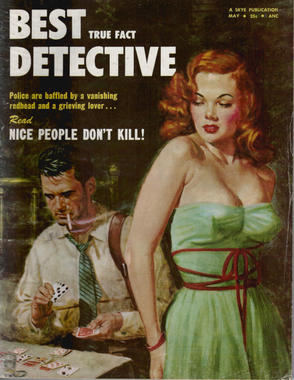 Best True Fact Detective May 1954