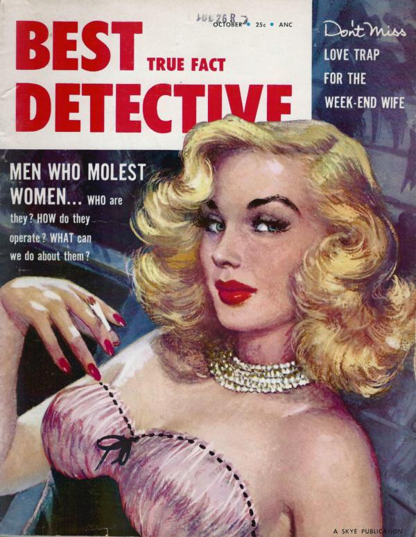 Best True Fact Detective October 1955
