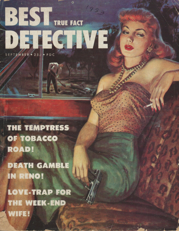 Best True Fact Detective Sept. 1953