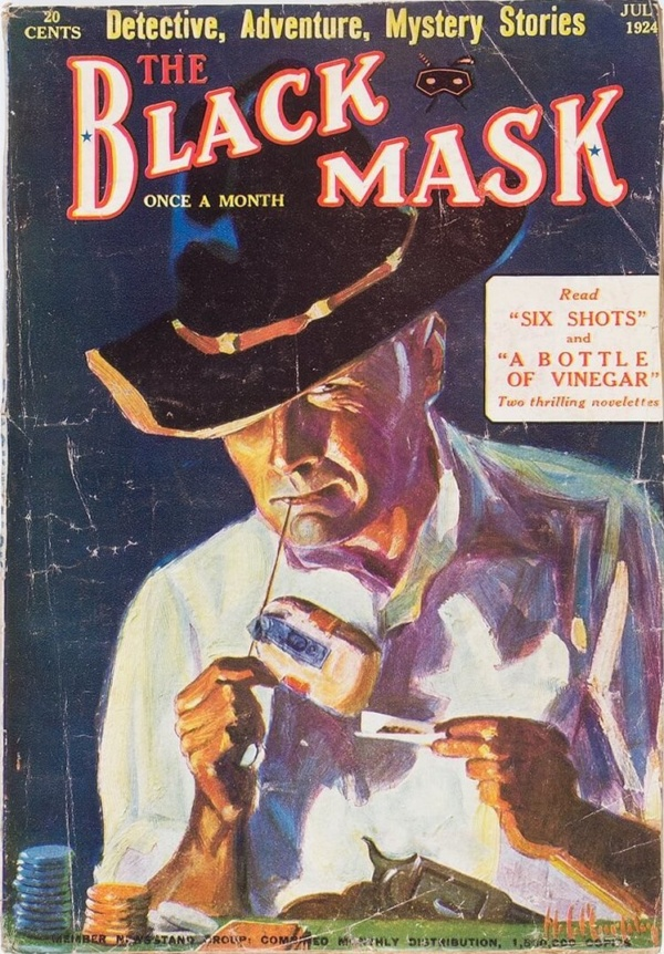 Black Mask - July 1924