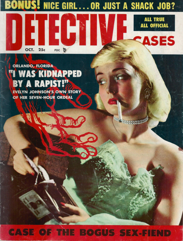 Detective Cases October 1956