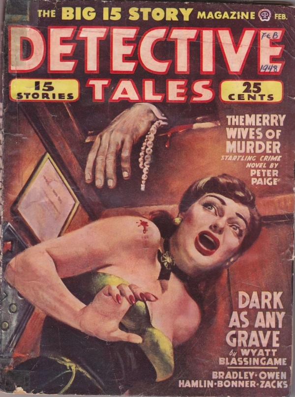 Detective Tales February 1948