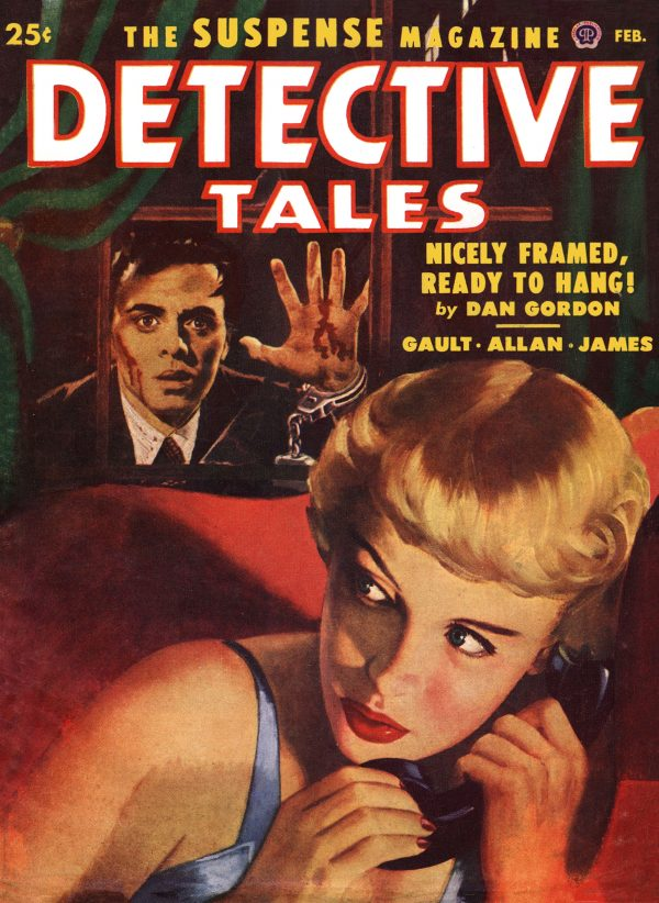 Detective Tales February 1952