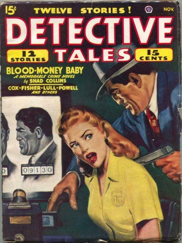 Detective Tales Magazine November 1947