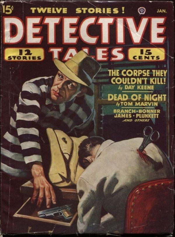 Detective Tales Pulp, 1948