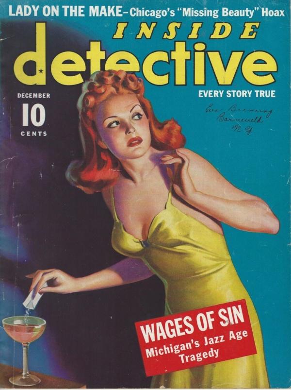 Inside Detective December 1939