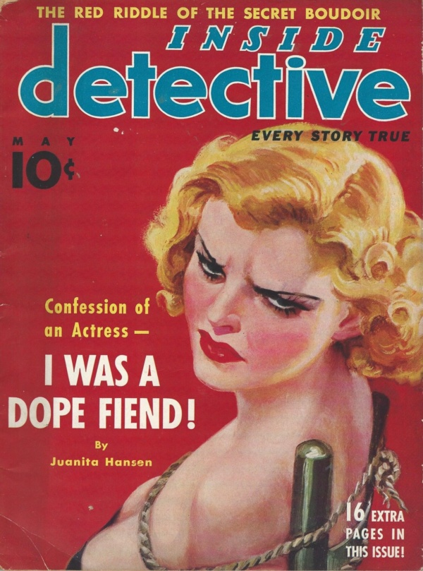 Inside Detective May 1937