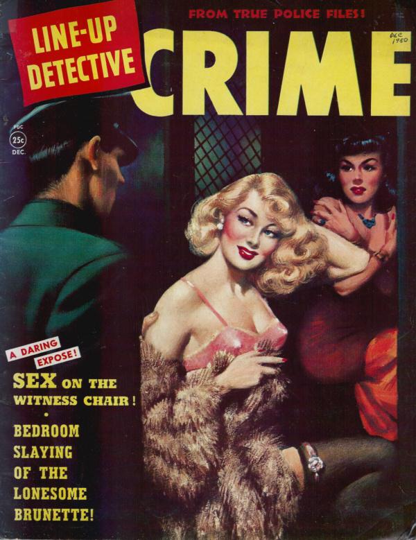 Line Up Detective December 1950