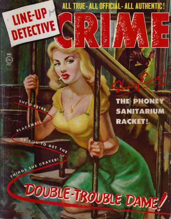 Line Up Detective December 1951
