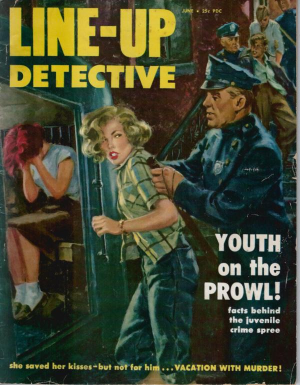 Line Up Detective June 1953