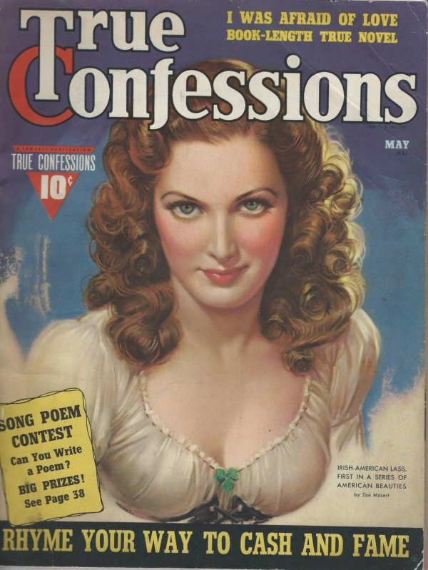 May 1940 True Confessions