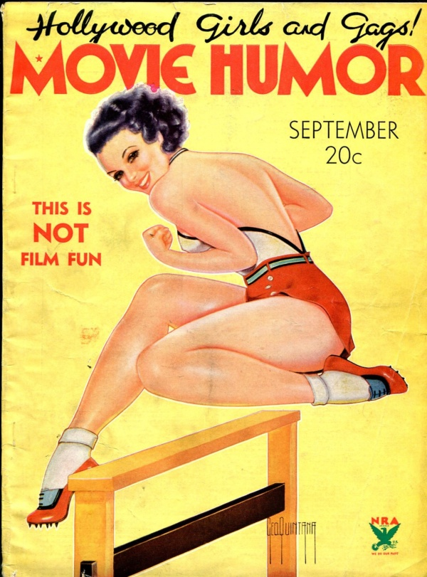 Movie Humor September 1934