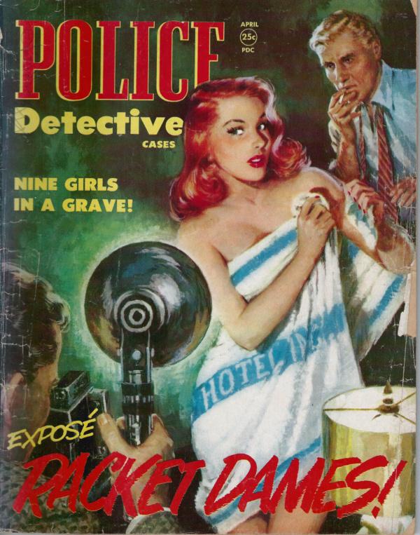 Police Detective April 1952