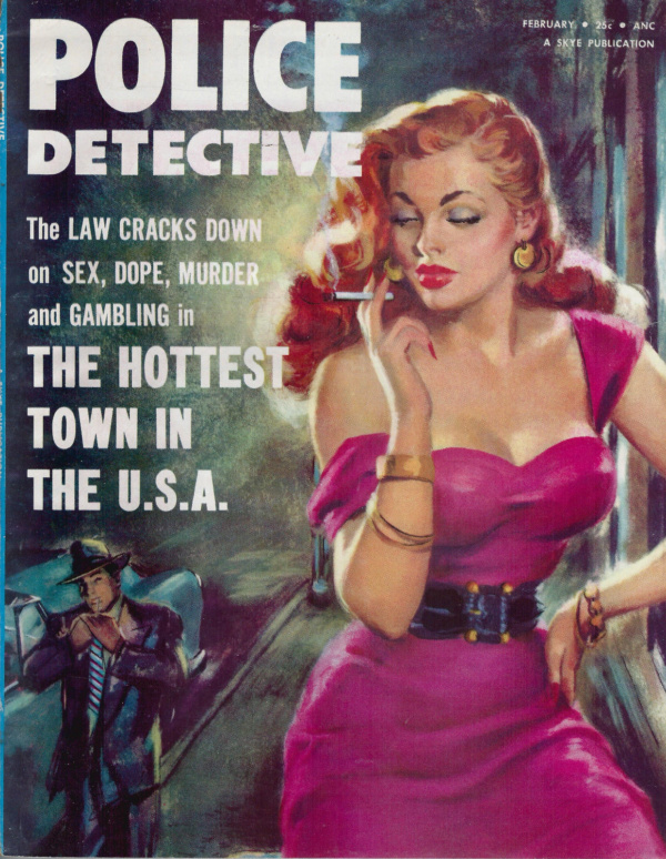 Police Detective February 1955