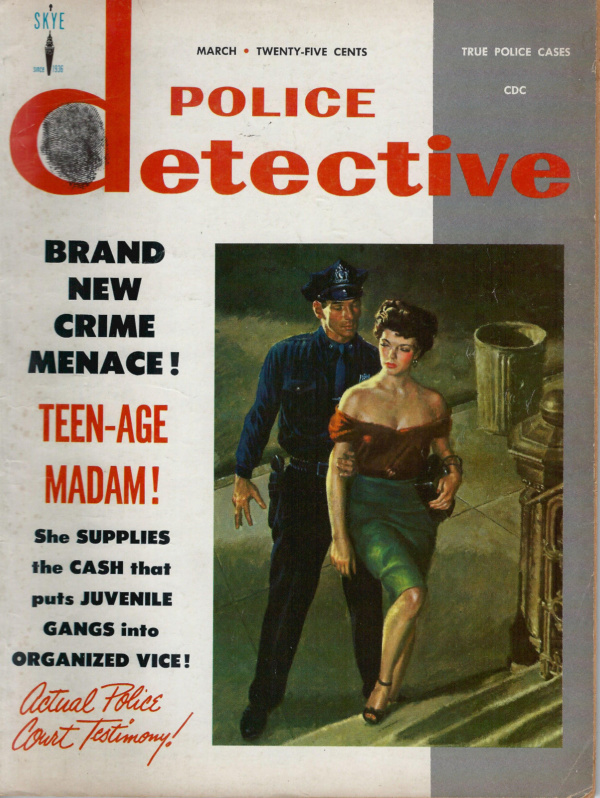 Police Detective March 1958