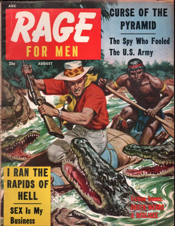 Rage For Men August 1957