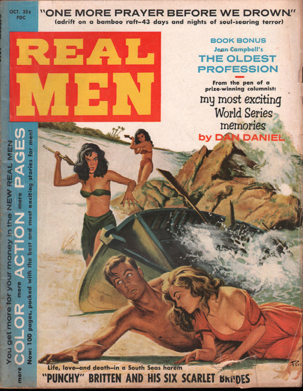 Real Men October 1959