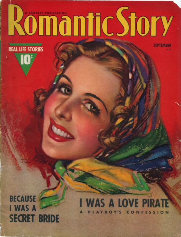 Romatic Story, September 1938