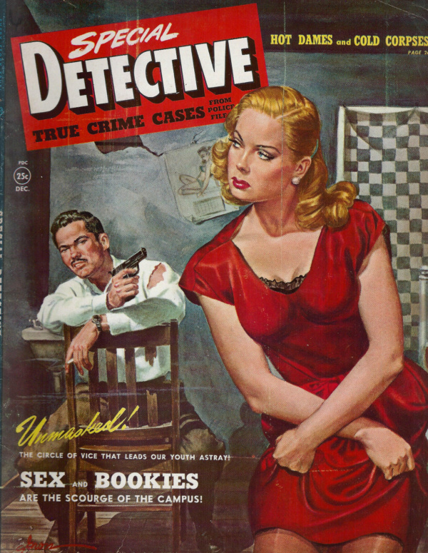 Special Detective December 1950