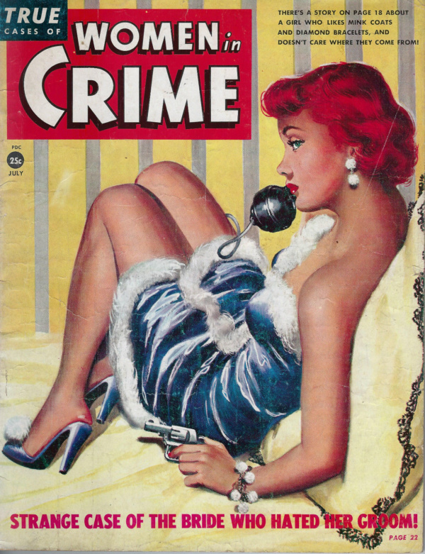 Women In Crime July 1950