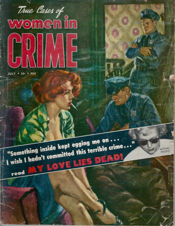 Women in Crime July 1953