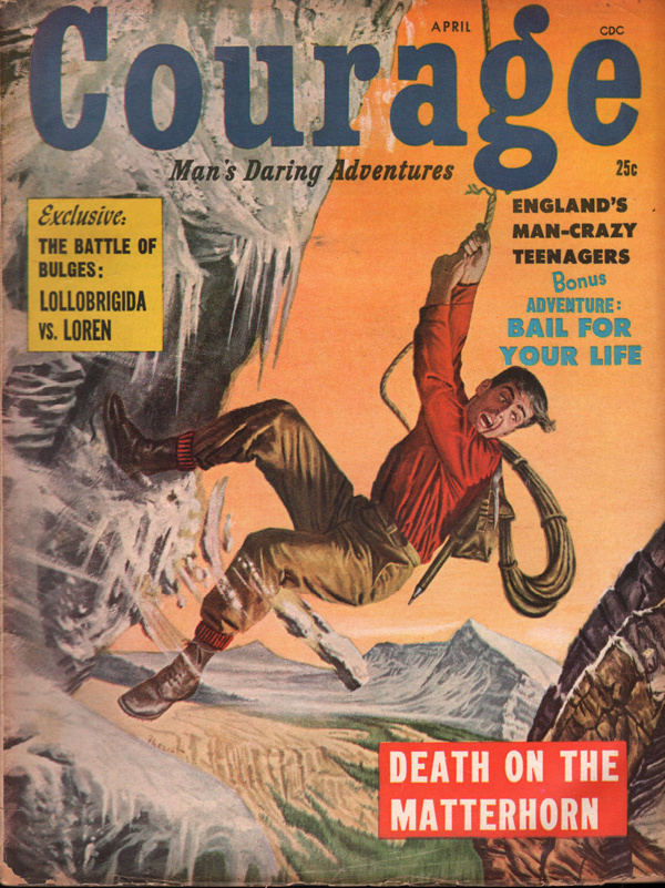 Courage April 1958