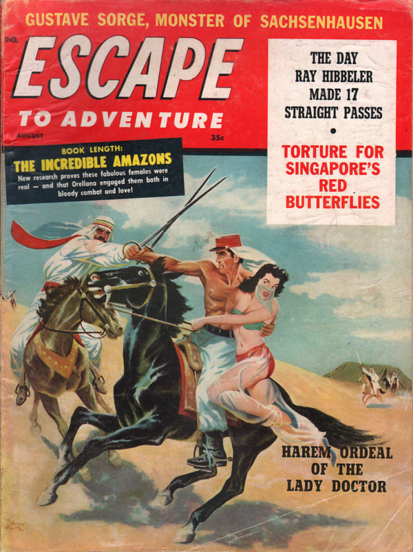 Escape to Adventure August 1960