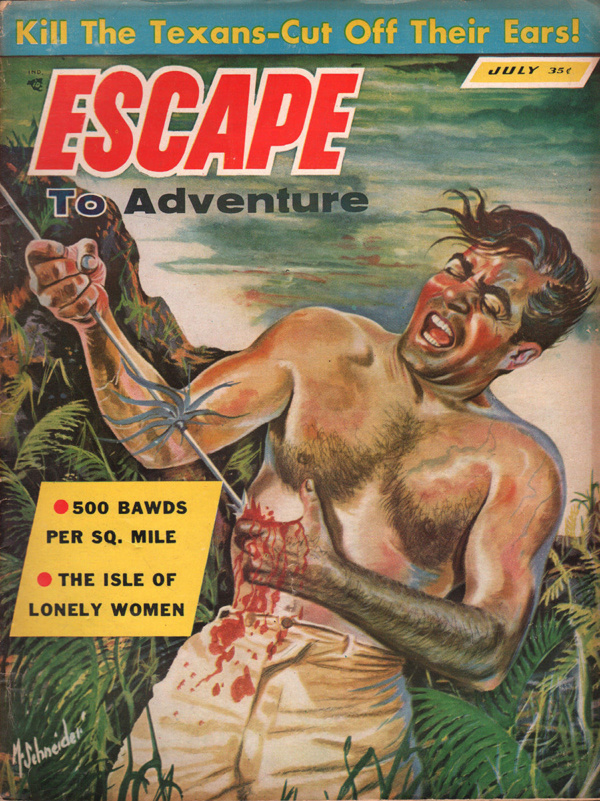 Escape to Adventure July 1957