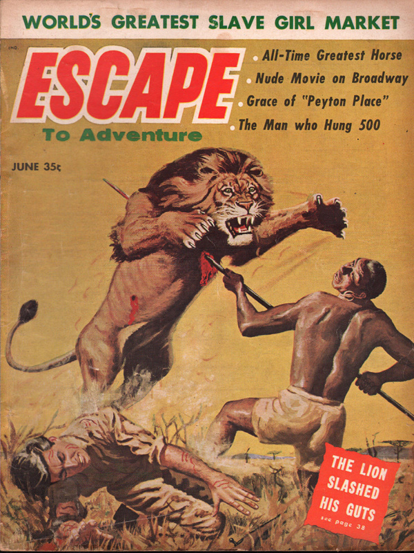 Escape to Adventure June 1958
