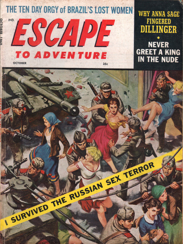 Escape to Adventure October 1960