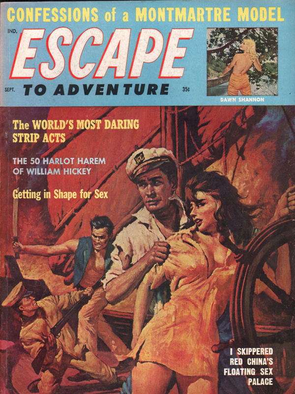 Escape to Adventure September 1962