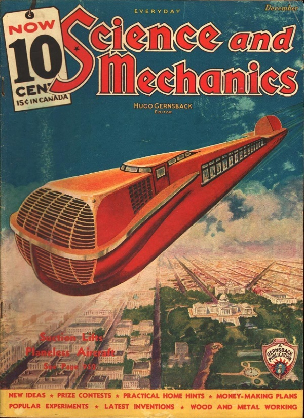 Everyday Science and Mechanics December 1935
