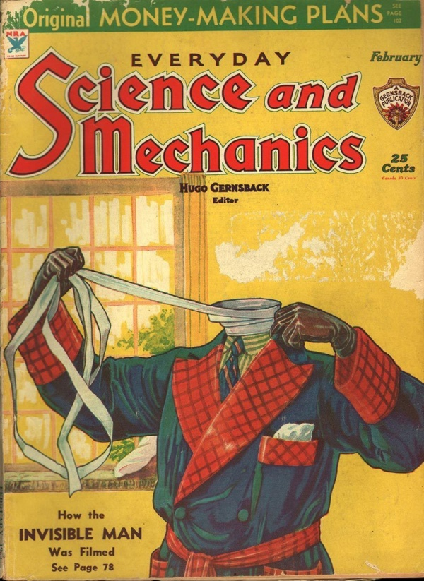 Everyday Science and Mechanics February 1934