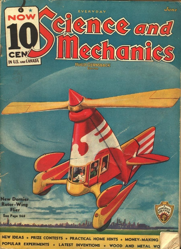 Everyday Science and Mechanics June 1936