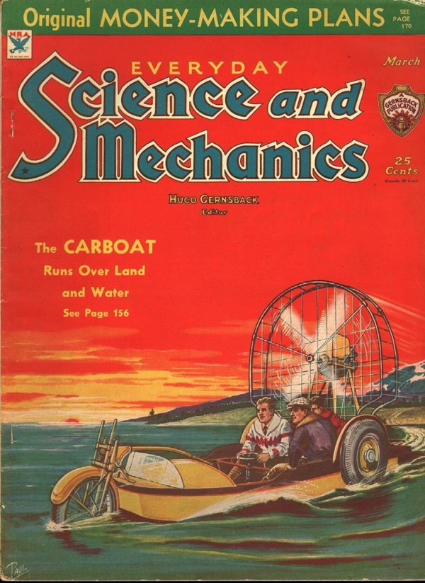 Everyday Science and Mechanics March 1934