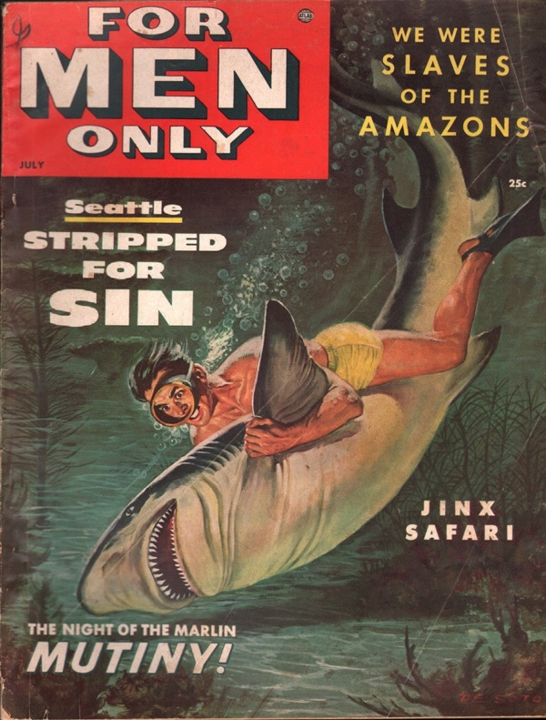 For Men Only July 1954