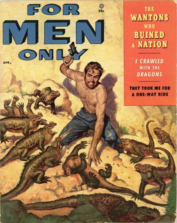 For Men Only Magazine April 1955