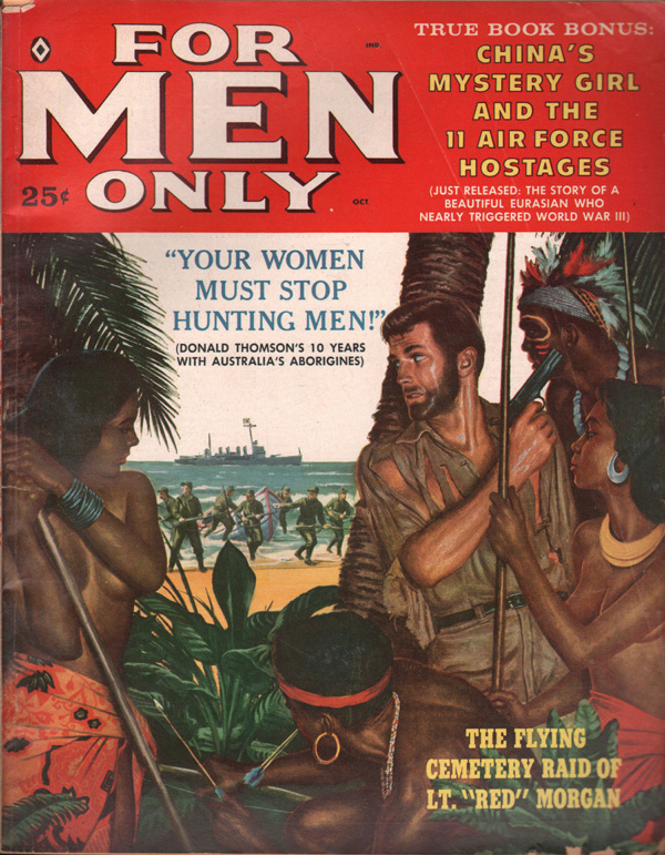 For Men Only October 1959