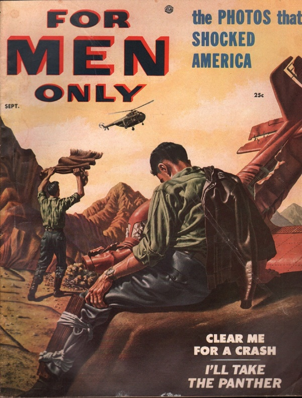 For Men Only September 1954